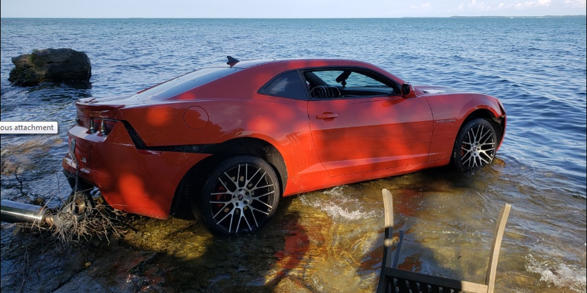 Arizona Cardinals WR Arrested After Driving Camaro Into Lake Erie