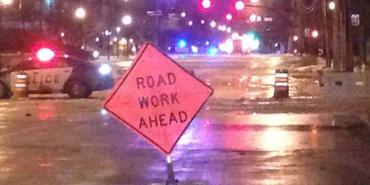 Water main break in Shaker Heights closes off major intersection