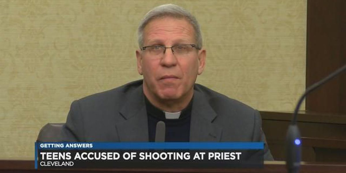 3 teens charged for shooting at, robbing Cleveland priest