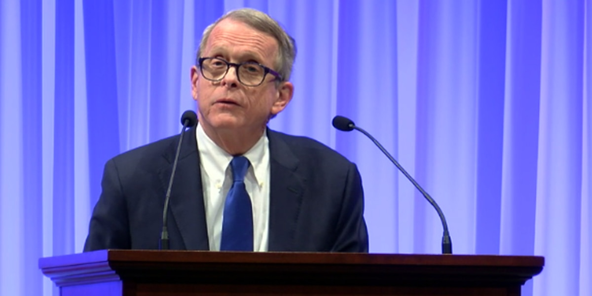 Governor Mike DeWine comes to Akron talking business, future of Lordstown