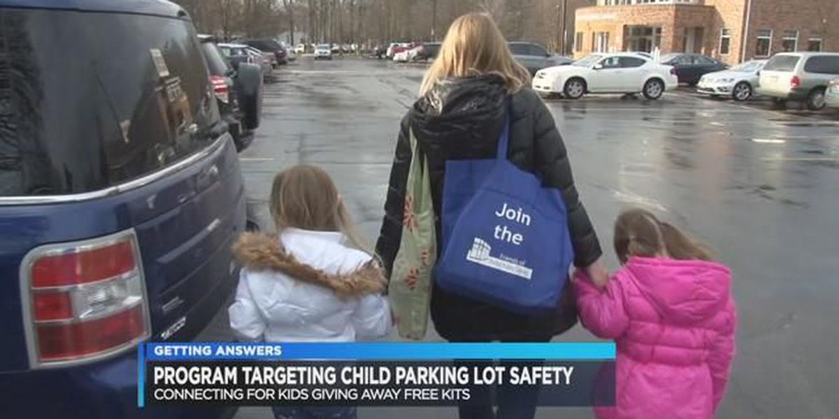 Connecting for Kids organization focusing on parking lot safety with new campaign