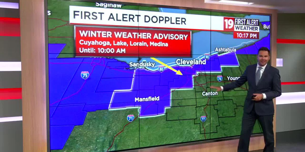 19 First Alert Weather: Several inches of snow expected by Wednesday morning