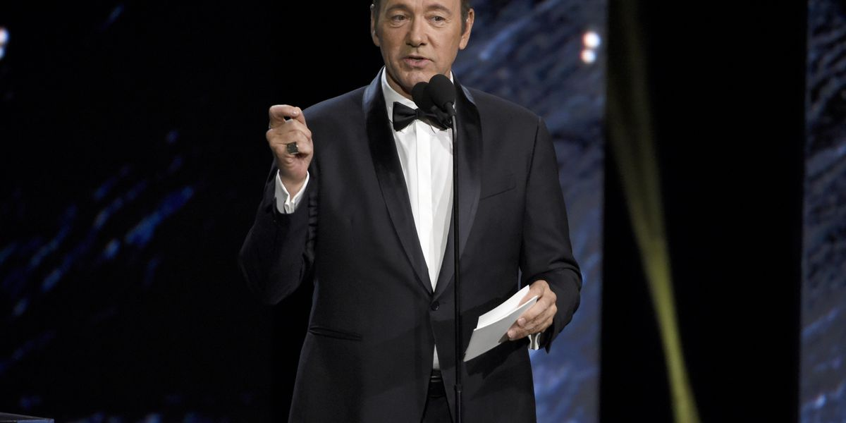 Spacey posts bizarre video as assault charge is announced