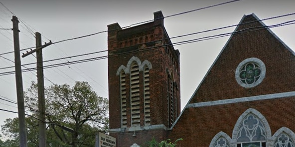 Church catches on fire in Cleveland
