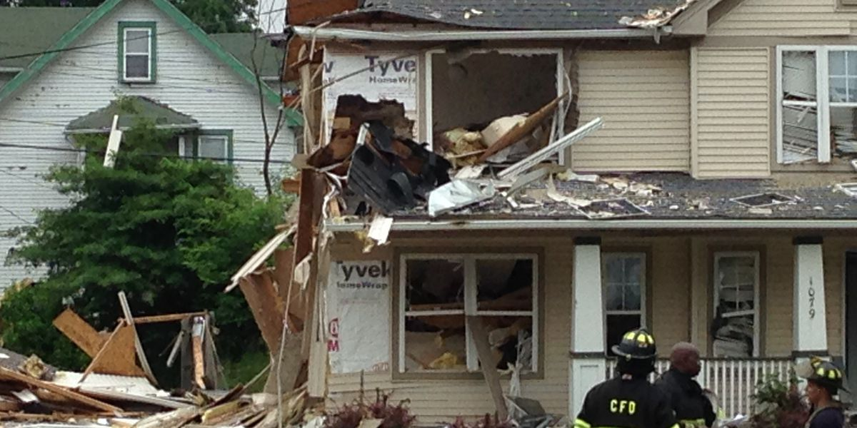 Red Cross closing shelter set up for East Cleveland explosion victims