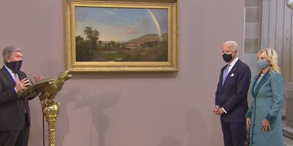 Joe Biden's Inaugural Painting comes from renowned Cincinnati artist