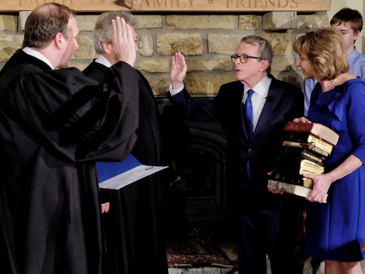 Ohio Gov. Mike DeWine's inauguration shows themes of inclusivity