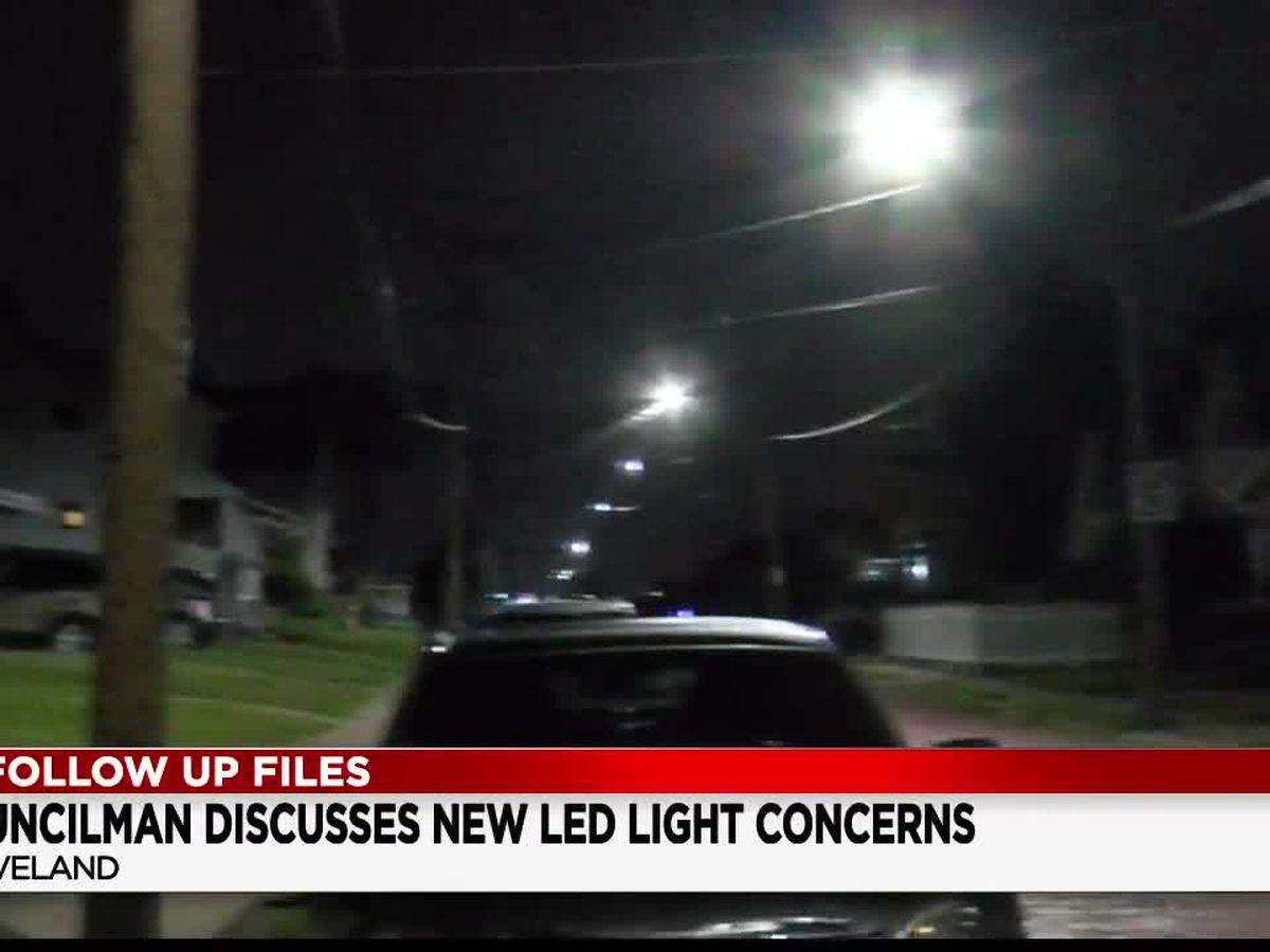 19 Follow Up Files: Cleveland councilman responds to concerns about new LED streetlights