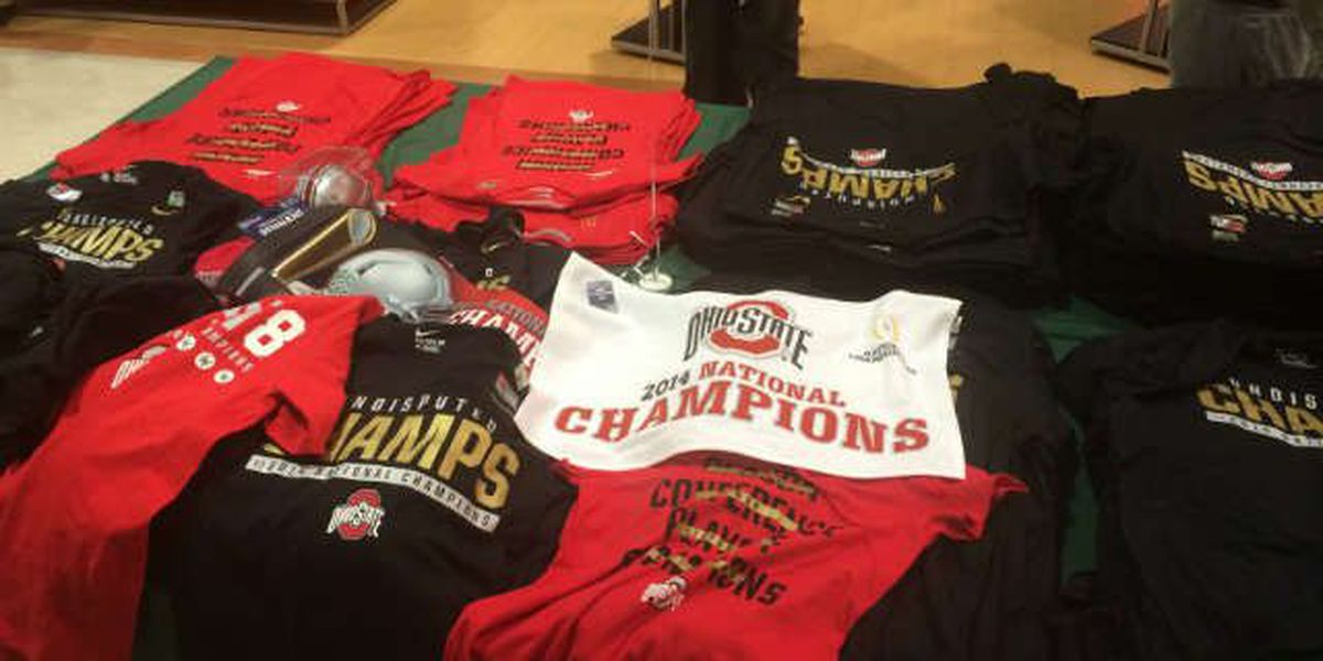 Dick's Sporting Goods gives OSU fans an early jump on championship gear