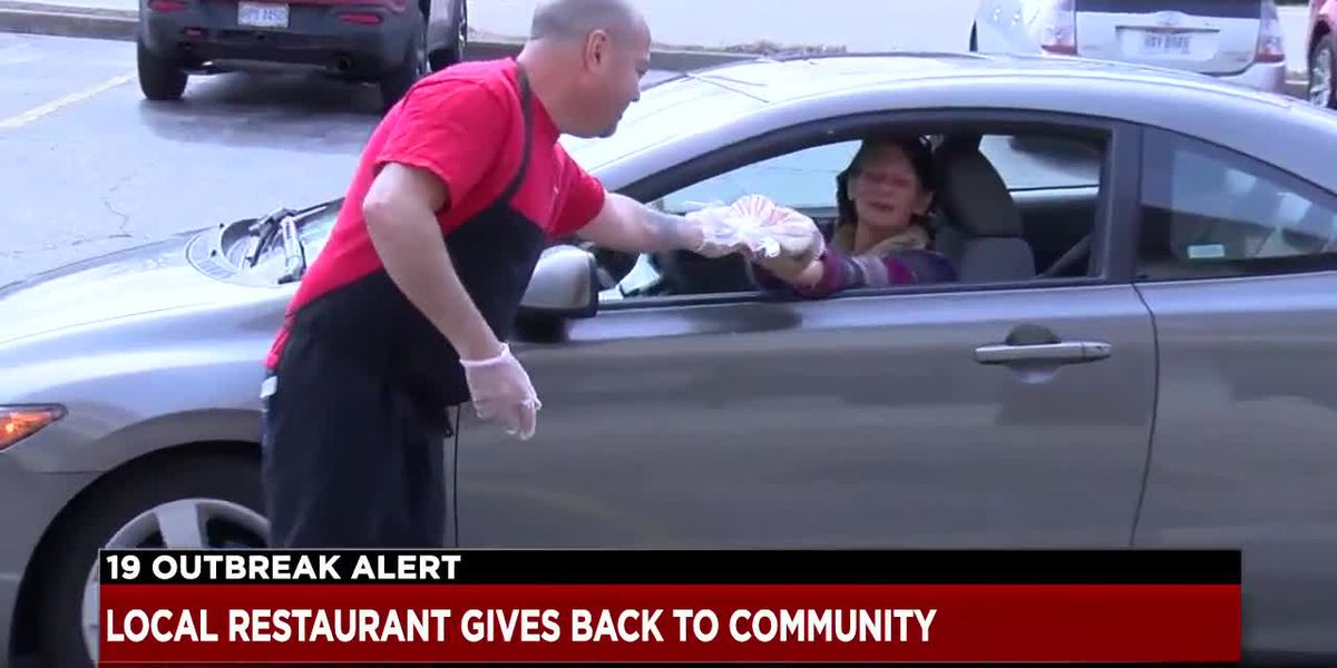 North Olmsted restaurant passing out free food to customers to say thanks