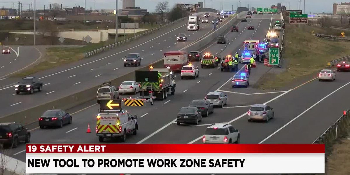 Ohio State Highway Patrol unveils new tool to promote work zone safety
