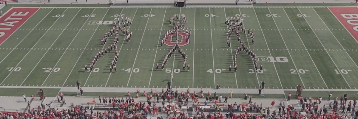 Do the 'Floss': This Ohio State University Marching Band's performance is must-see!