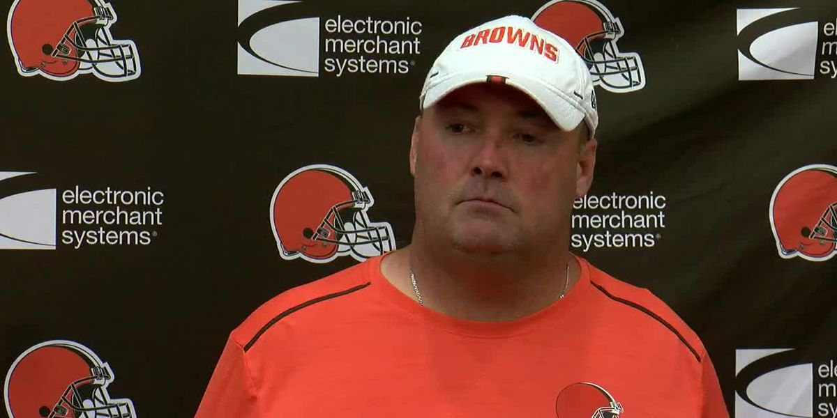 Freddie Kitchens on his first coaching job