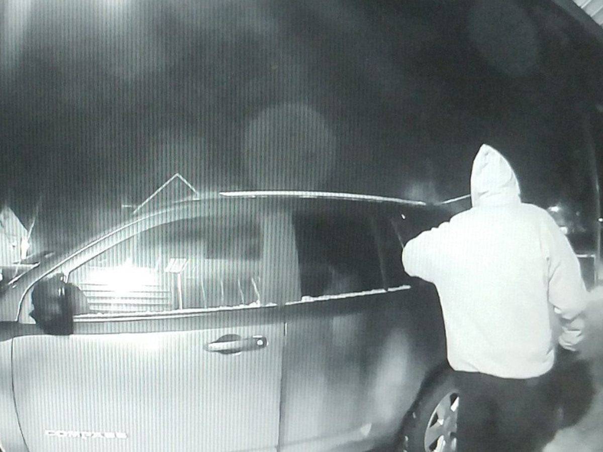 Door bell camera catches would-be vandal in Cleveland's Hough neighborhood