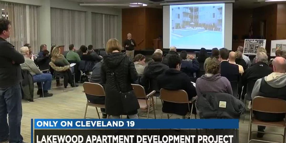 Lakewood unveils news plans for a luxury apartment complex