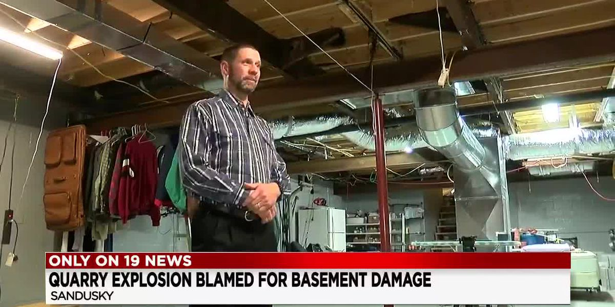 Navy vet says explosion destroyed his basement and left his Sandusky home unsafe