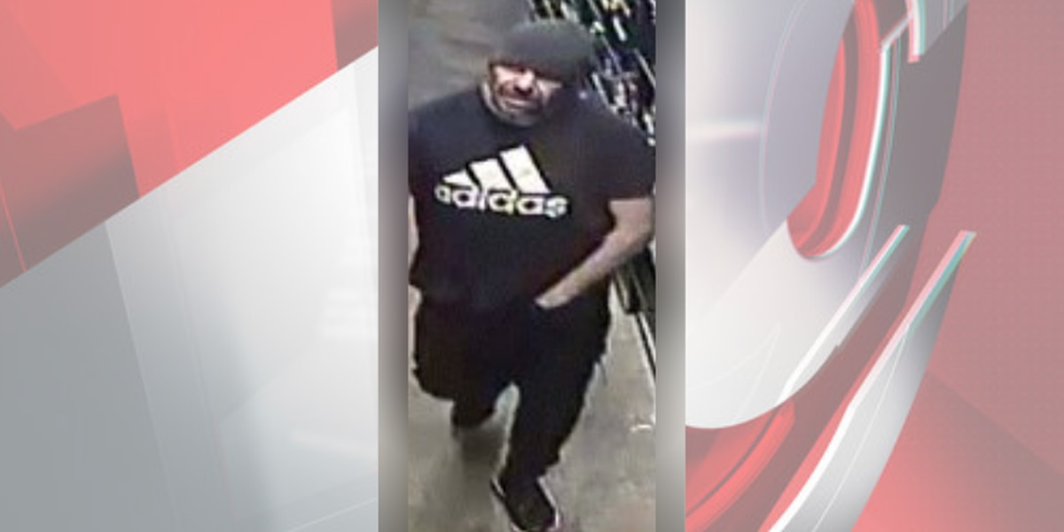 Police hope to identify man who stole cases of energy drinks from Lakewood gas station