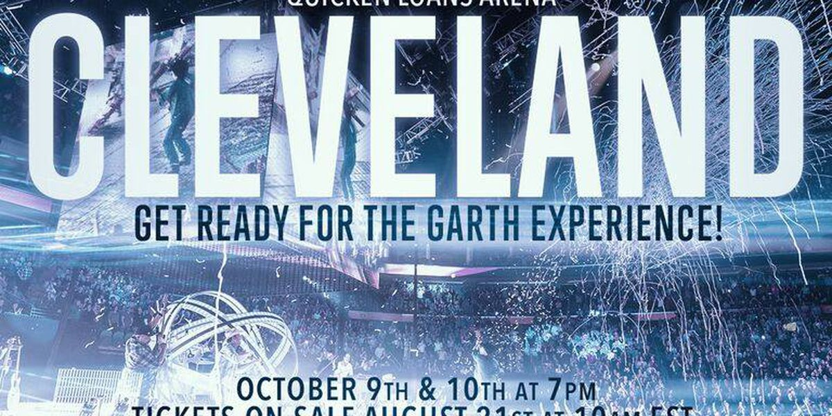 "Garth Brooks adds two shows at the ""Q"", tickets on sale Aug. 21"