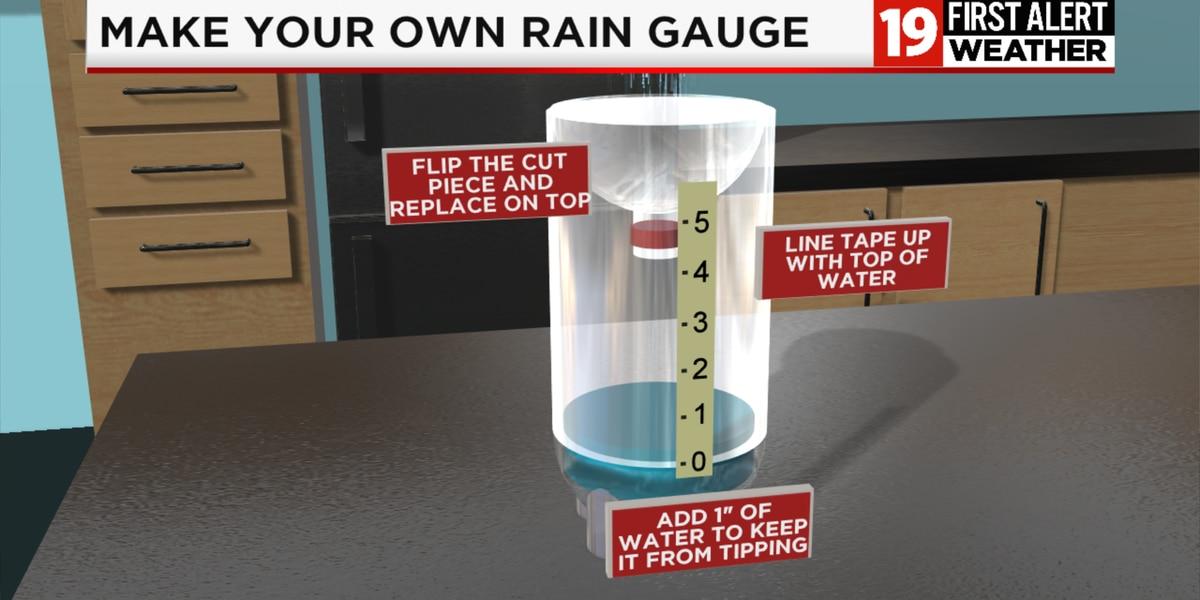 19 First Alert Weather School Experiment: Rain Gauge