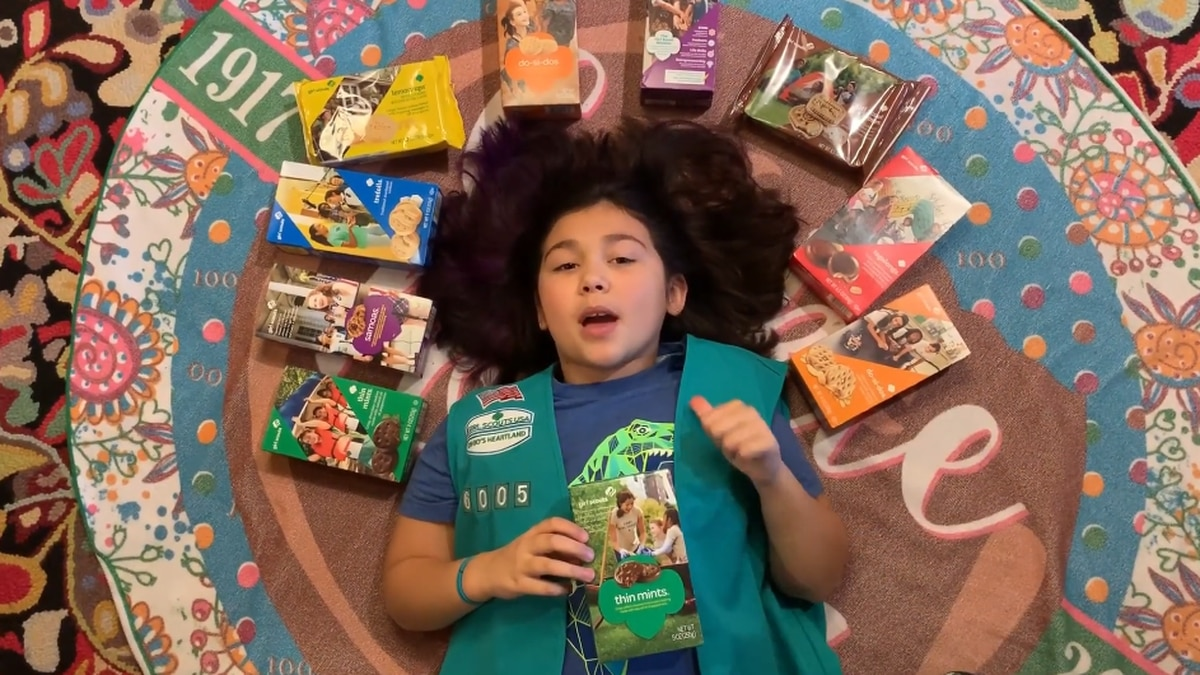 Ohio Girl Scout does her best Lizzo impression to help sell cookies (video)