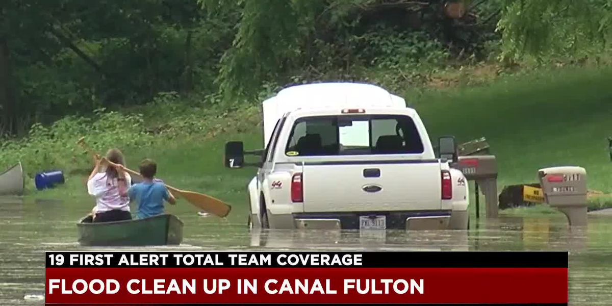 Canal Fulton faces worst flooding in decades, comparisons to 1913 water levels