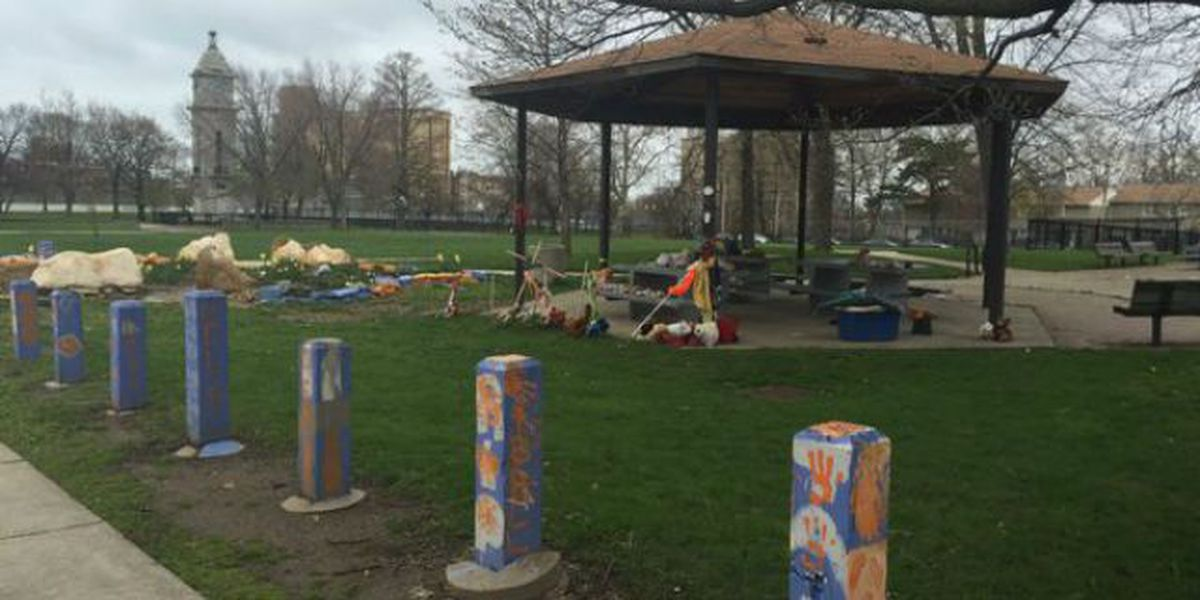 Gazebo where Tamir Rice was fatally shot by police to go on display in Chicago