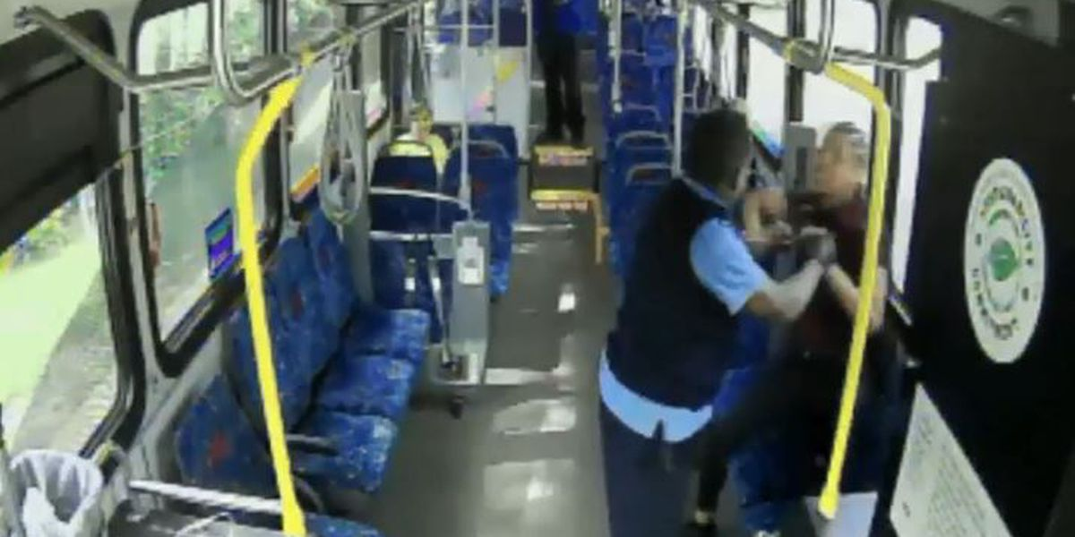 RTA bus driver enters not guilty plea charged after being charged with disorderly conduct and unlawful restraint during violent confrontation