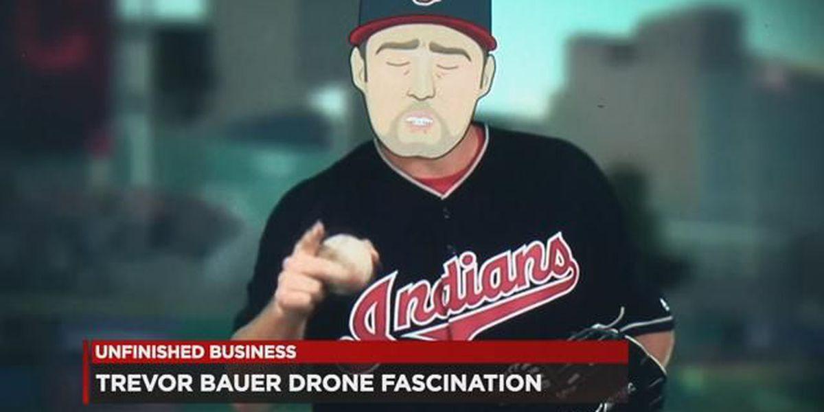 Ohio native, cartoonist pokes fun at Trevor Bauer's drone fixation