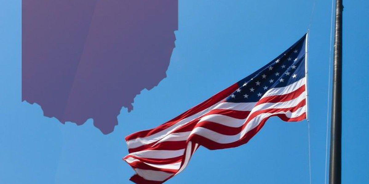 Gov. DeWine orders flags flown at half staff Tuesday to mark coronavirus anniversary in state