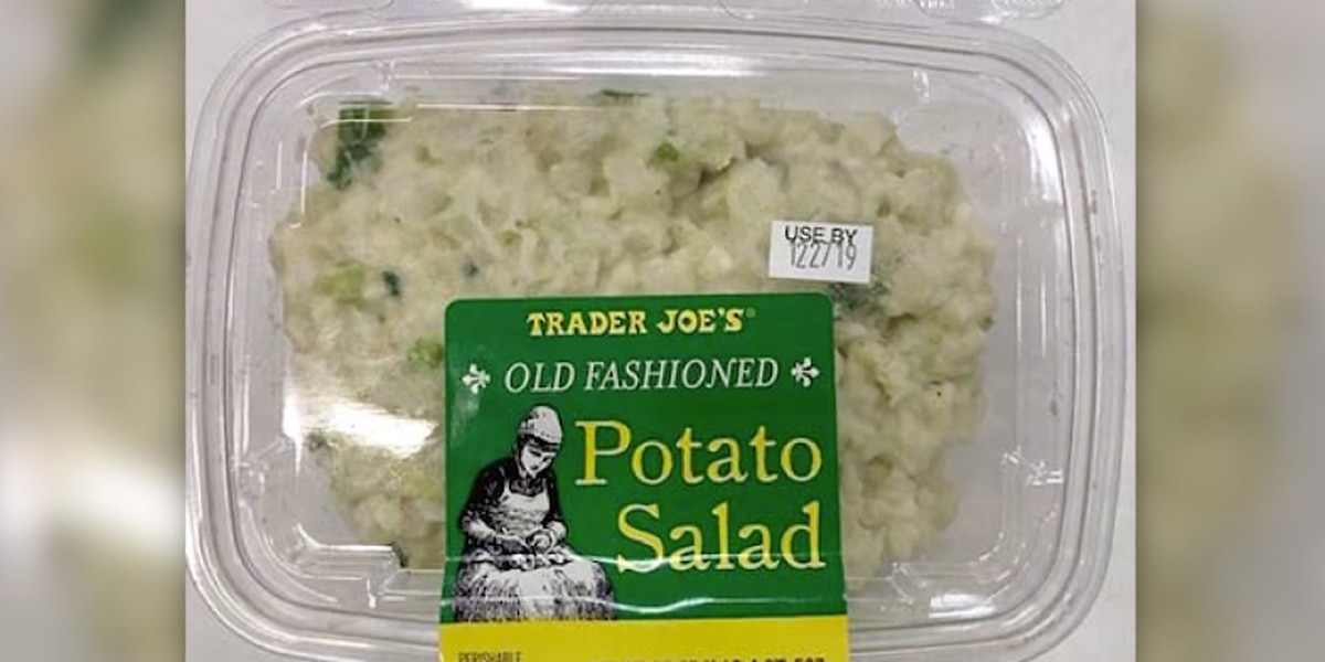 Trader Joe's recalls egg salad, potato salad for possible listeria contamination