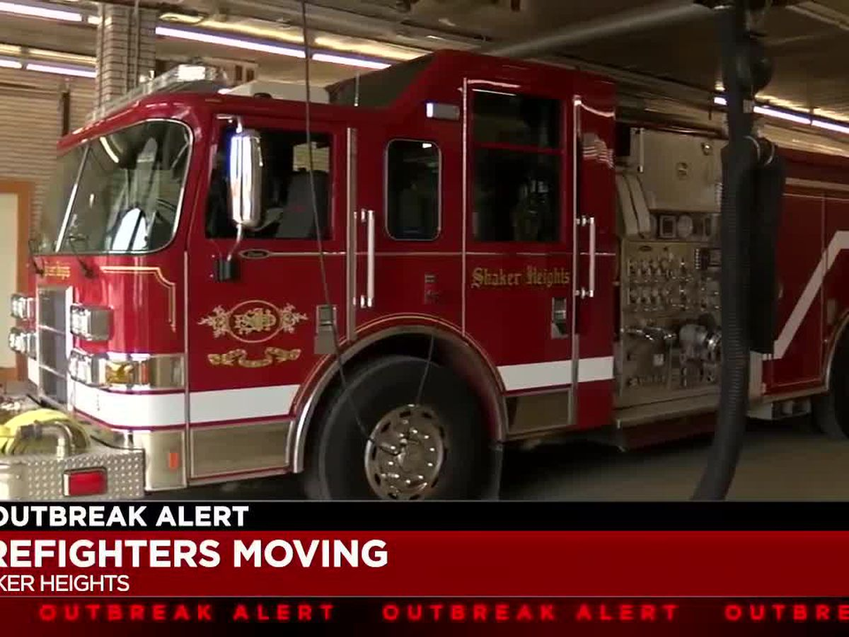 Shaker Heights Fire Department moves crew to 90-year-old fire station