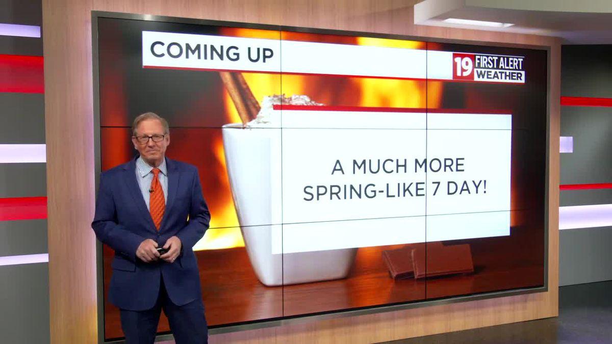 Northeast Ohio weather: Mid-week warm-up on the horizon