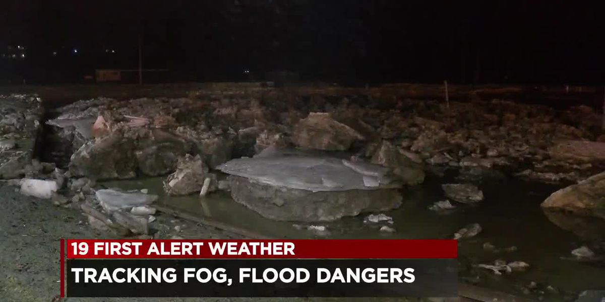 Fog and flooding concerns grow along Chagrin River as heavy rains approach