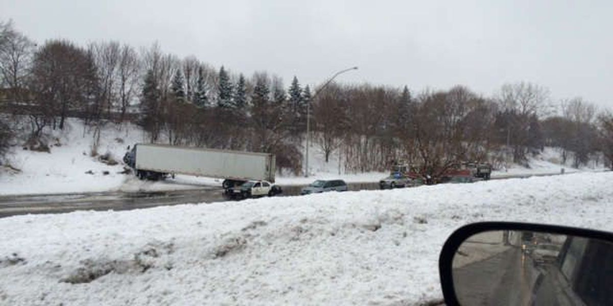 Slow traffic on highways credited to multiple accidents