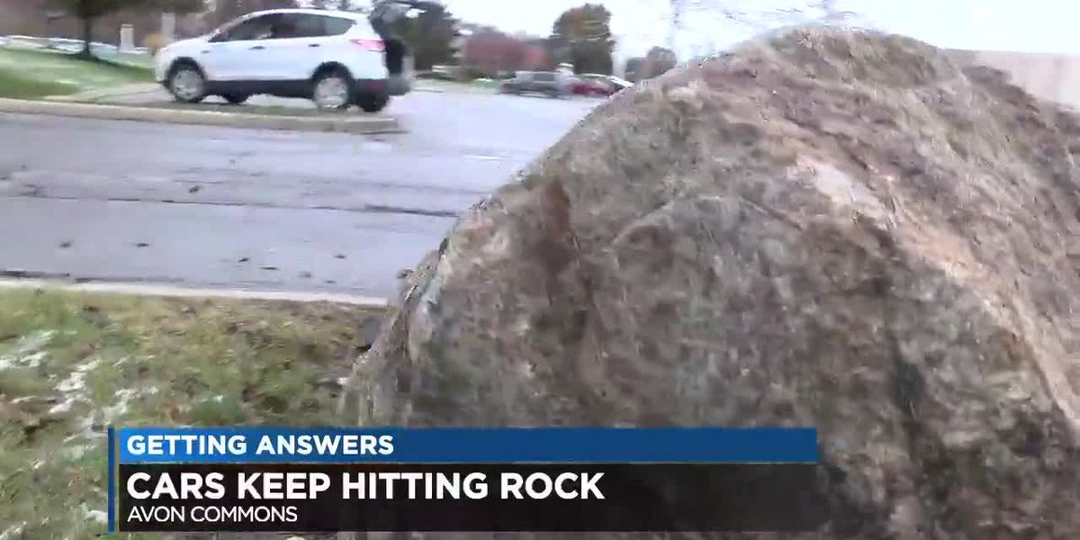 Avon Commons kryptonite rock proves perilous for Ohio drivers