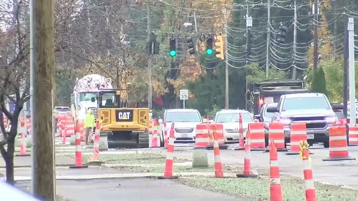 Waiting game continues for drivers in North Ridgeville construction sees major delays