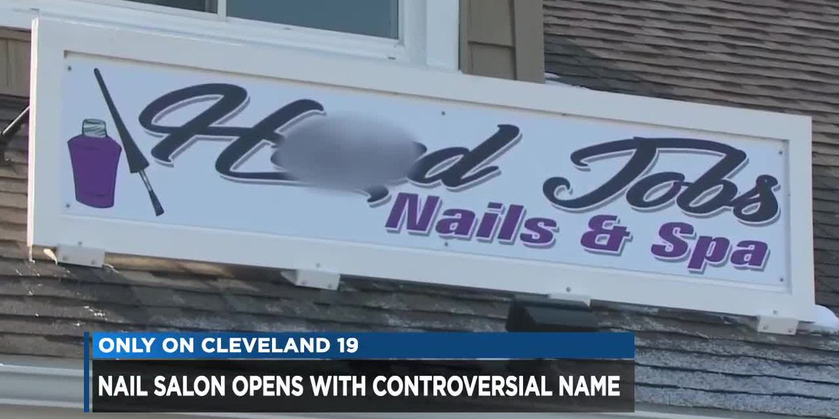 Ohio nail salon getting a lot of attention over its risque name