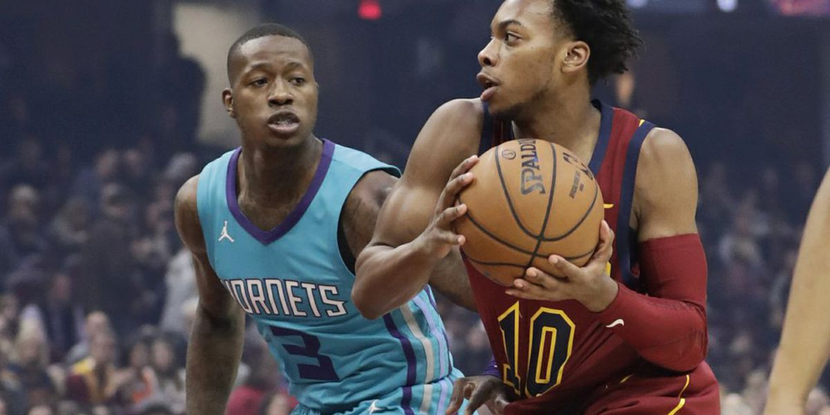 Graham breaks late tie, Hornets beat Cavaliers 109-106