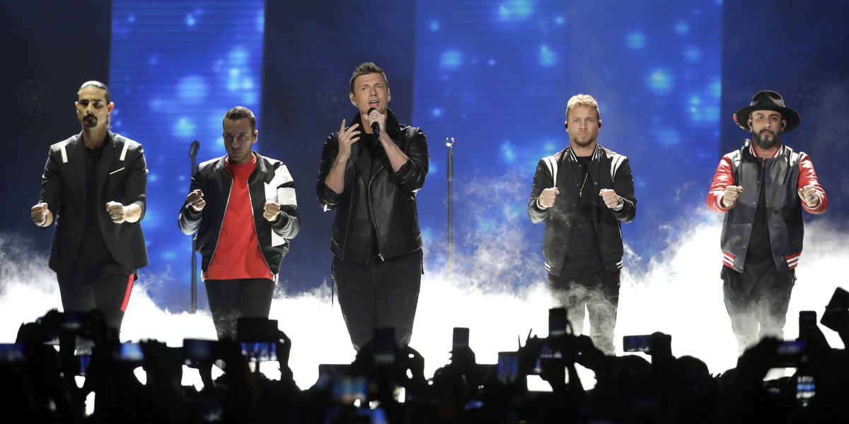 Backstreet Boys reunite for 2020 world tour concert stop at Blossom Music Center