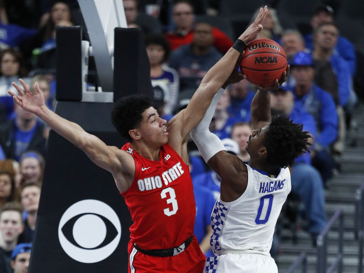 No. 5 Ohio State defeats No. 6 Kentucky 71-65 in big season showdown