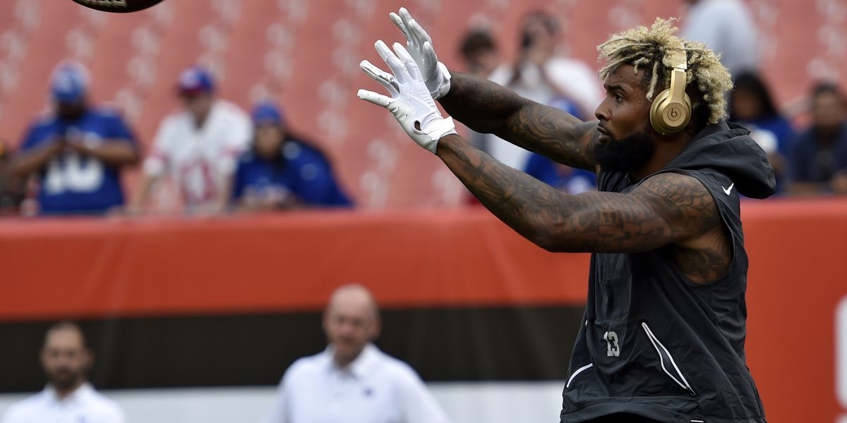 Odell Beckham Jr. hosting youth football camp in Strongsville