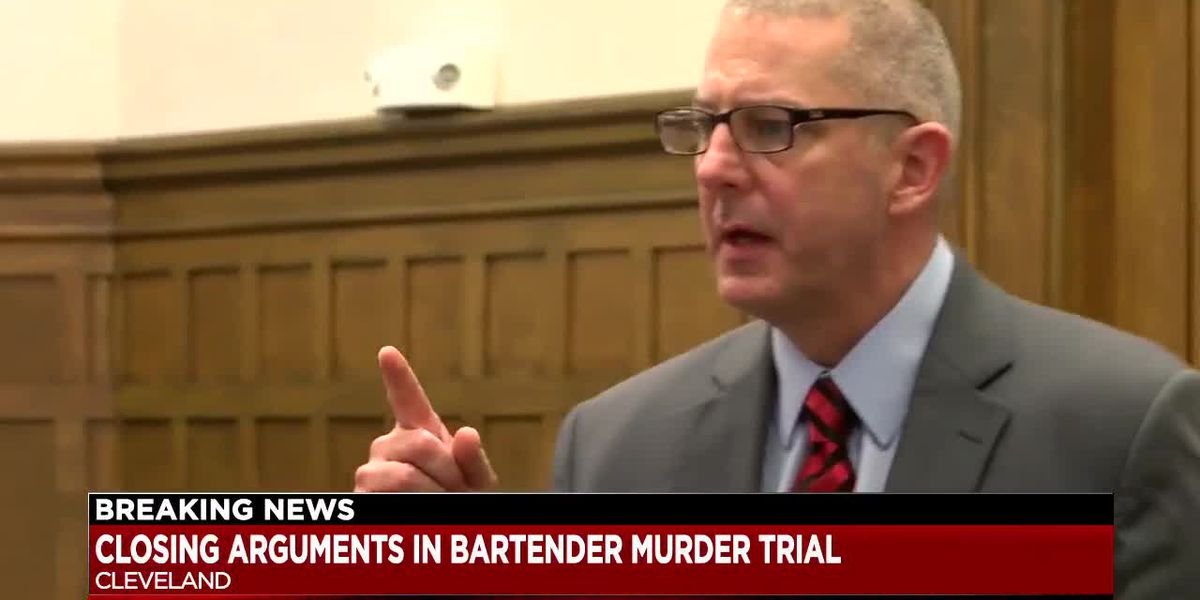 Jury deliberating in trial for man accused of murdering a Lake County bartender