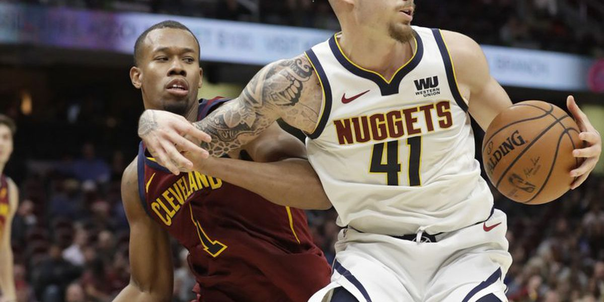 Cavs start hot but eventually fall to Nuggets