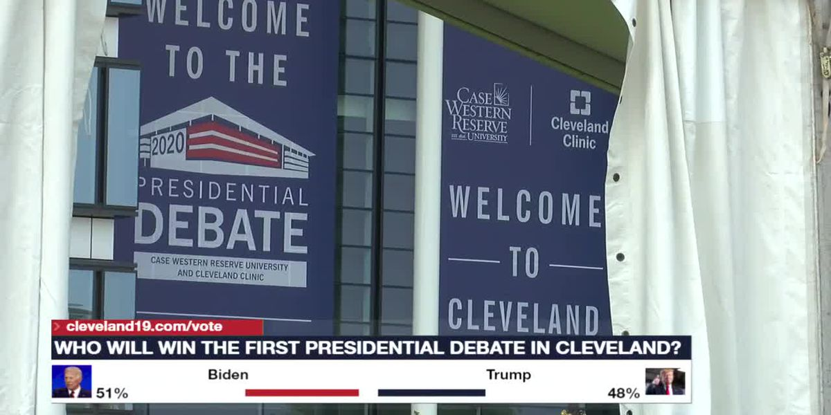 Cleveland Clinic and CWRU undertake massive effort to host first US presidential debate