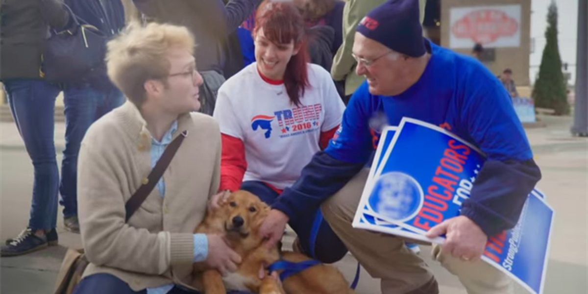 Ad highlights togetherness in divisive election season