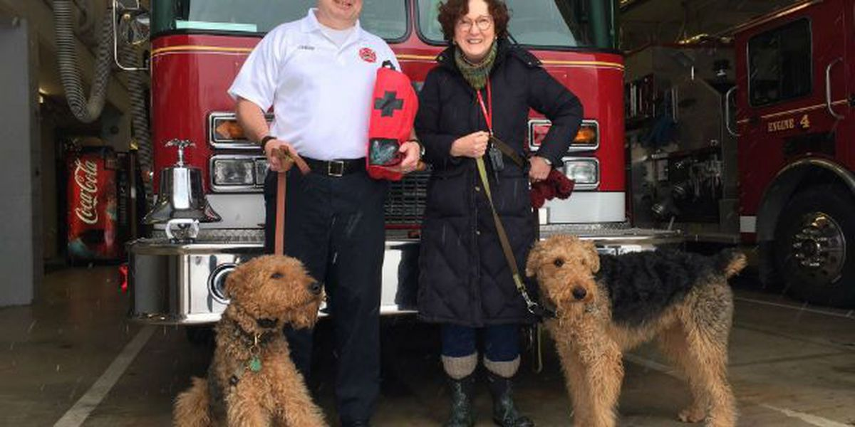 Resident donates pet oxygen mask to fire department