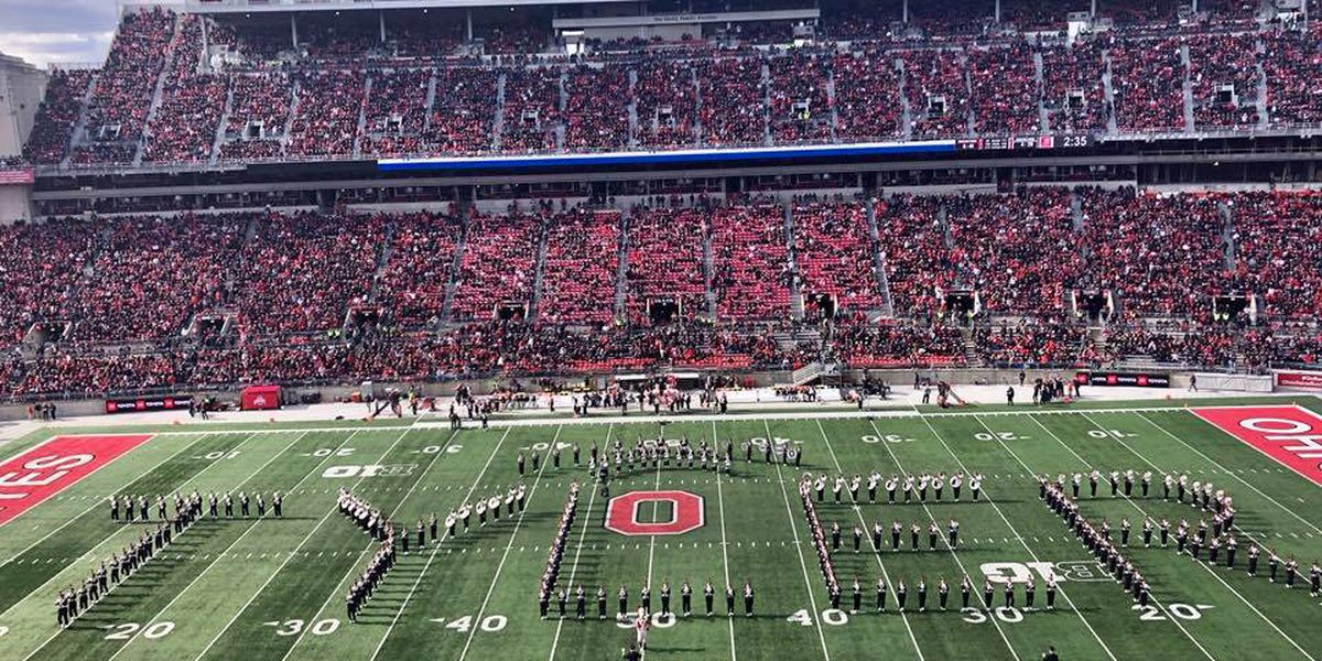 OSU Marching Band honors University of Nebraska trumpet player who died in crash
