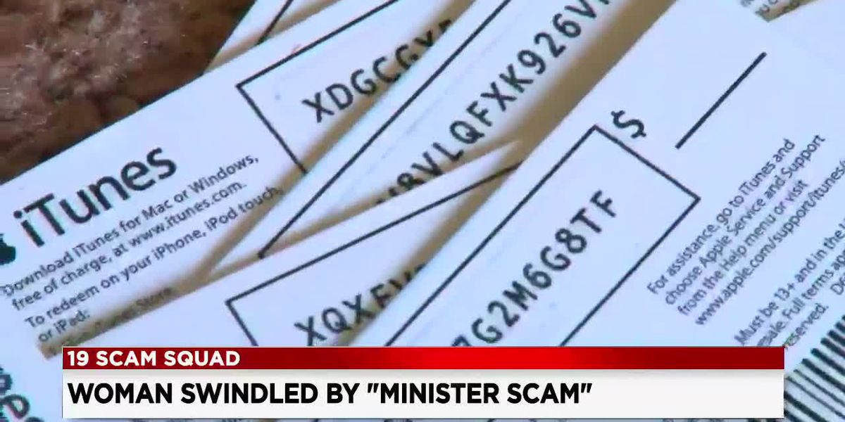 Woman falls victim to 'minister scam,' and now she's speaking out