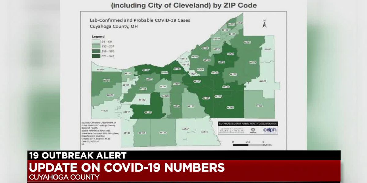 Cuyahoga County Board of Health tells school districts to rethink reopening plans