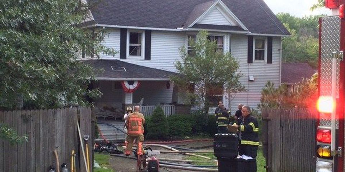 Several fire departments converge in Chesterland to stamp out blaze